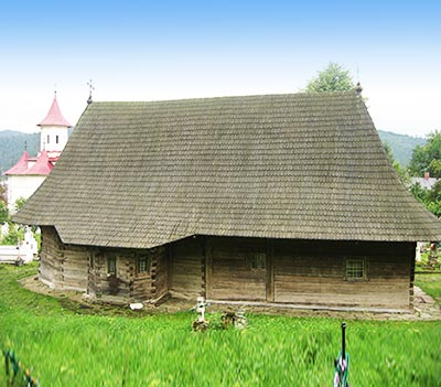 Biserica de lemn din Putna